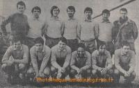 1969/70 - Match CFA contre MAISONS ALFORT