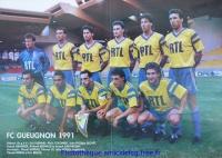 1991 - 1/2 finale Coupe de France à Monaco FCG