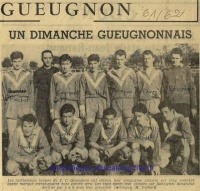 1961/62 - les Juniors