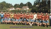 1990 match d\'Anciens à Charolles