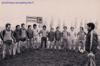 1979 - Training matinal  jour du match