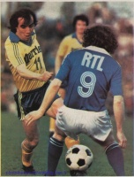 1979 - 1/4 aller Coupe de France contre STRASBOURG
