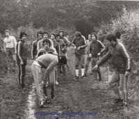 1974 - Prépa physique en forêt
