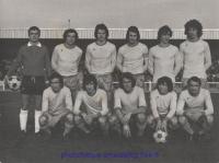 1974-75  Match D2 contre FONTAINEBLEAU