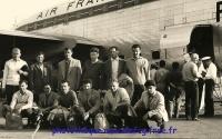 1961/62 - Déplacement à Ajaccio