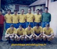 1968/69 - Amical à Paray