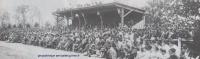 1952 : La tribune en bois