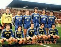 1977 - 8ème retour Coupe de France à LORIENT