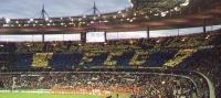 Avril 2000 le Tifo au Stade de France