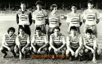 1984/85 - Match de préparation