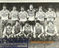 1984/85 - Match D2 contre MARTIGUES