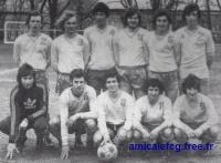 1976/77 - les Juniors