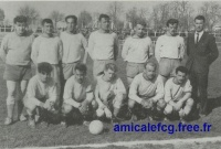 1961/62 - Match CFA contre Gaz Ajaccio