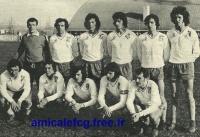 1974/75 - Match D2 à MANTES LA VILLE