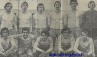 1972/73 - Match D2 contre SETE