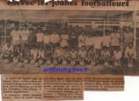 198? Ecole de foot à VF