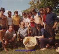 1970 - Sortie détente en fin de saison