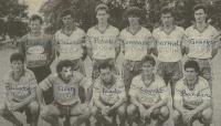 1988/89 - Match de préparation