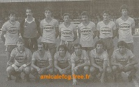 1983/84 - Match D2 contre BESANCON