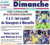 1999/00 - 16e finale Coupe de France à MARSEILLE