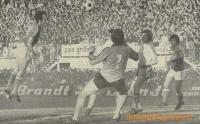1976/77 - Barrage retour contre ROUEN